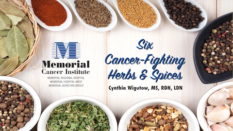 Best herbs and spices to fight cancer