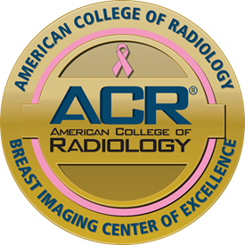 ACR Breast Imaging COE seal